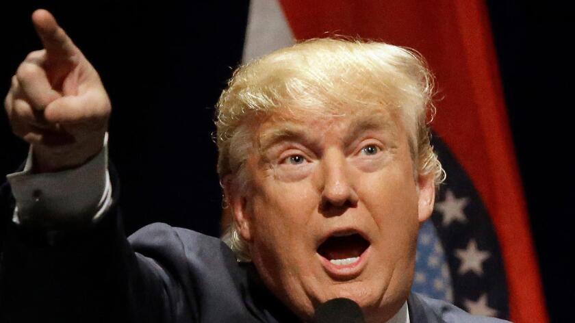 Donald Trump, candidato a la presidencia de Estados Unidos.
