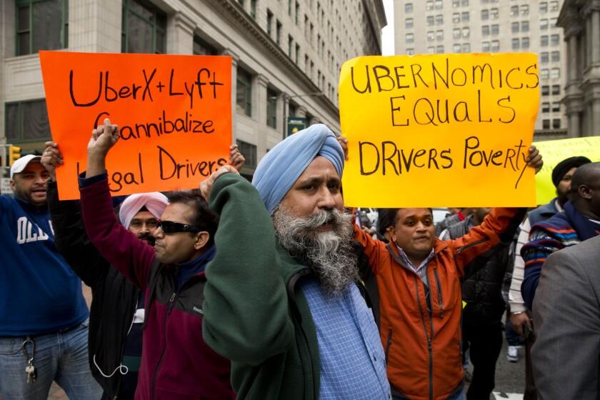 APphoto_Philadelphia Uber Protest