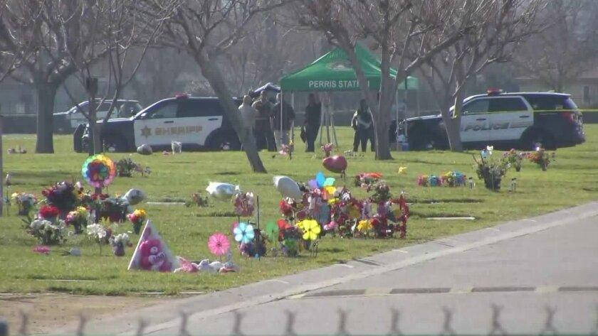 triple homicide investigation in Perris