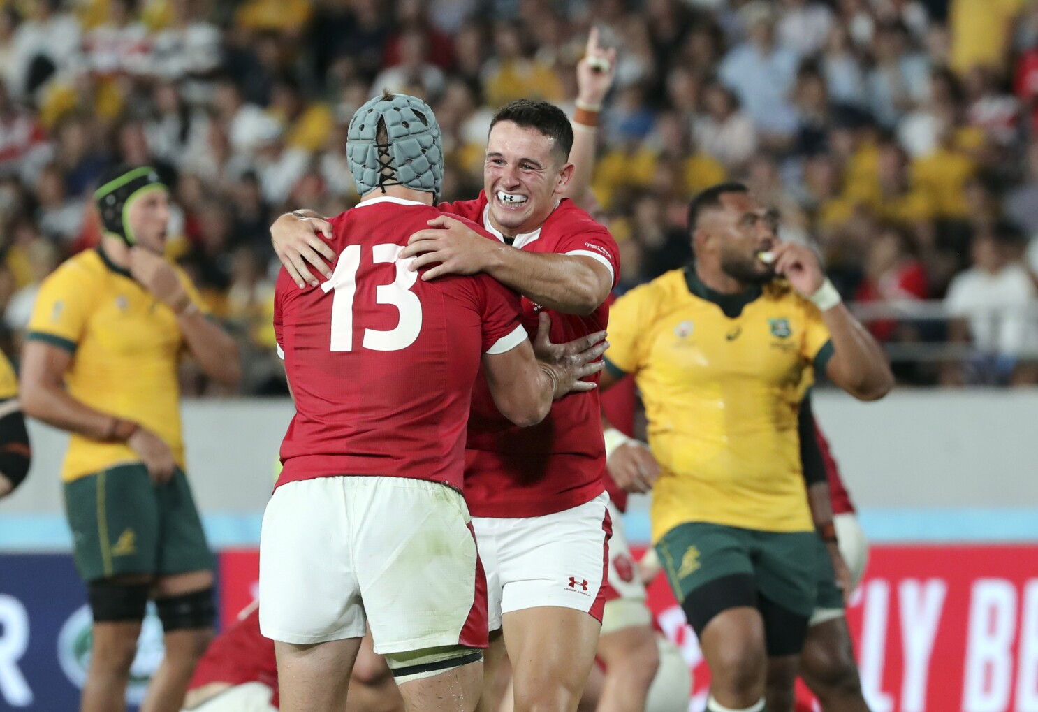 Wales Edge Wallabies To End 28 Years Of World Cup Misery The San Diego Union Tribune