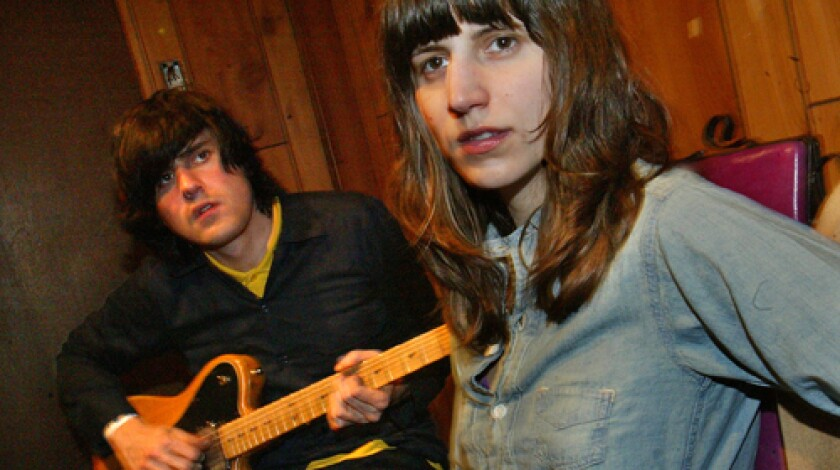 """SIBLINGS: Matthew and Eleanor Friedberger are the Fiery Furnaces. Their latest album, """"Remember,"""" is due in August."""