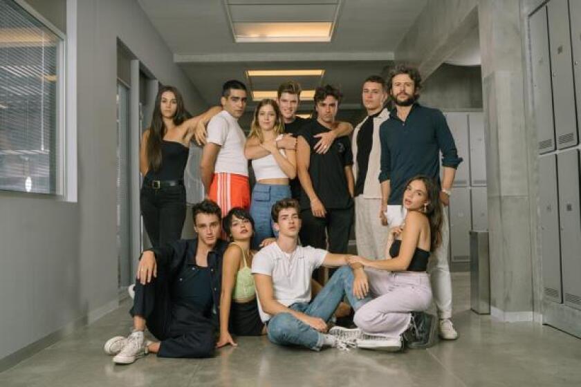 El elenco de 'Élite' y sus nuevos personajes
