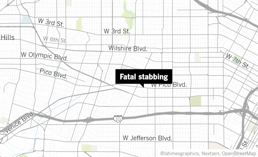 Location of fatal stabbing in Arlington Heights