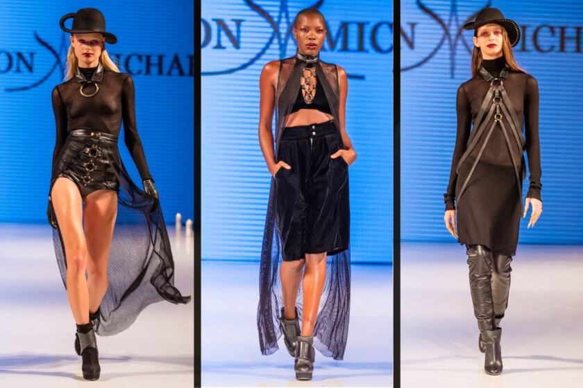 Looks from Ashton Hirota's Ritual collection.