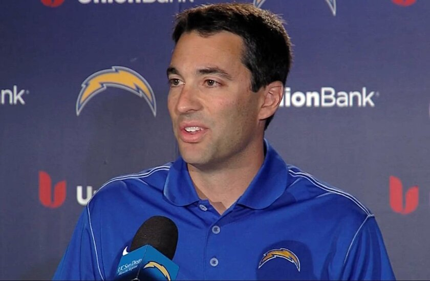 Tom Telesco has never taken a quarterback in the first four rounds of the draft while he has been the general manager of the Chargers. Will that change next week?