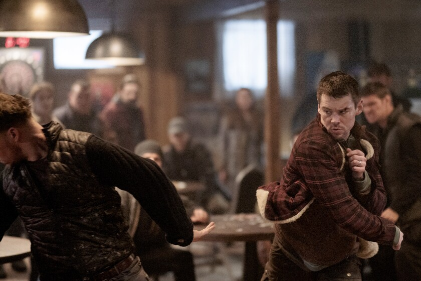 "Brian J. Smith in ""Treadstone"" on USA"