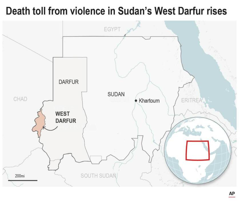 Death Toll from Tribal Violence in Sudan's West Darfur Province Leaves 83 Dead
