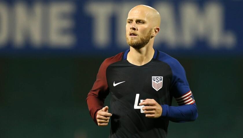 Michael Bradley, capitán de la selección de futbol de Estados Unidos.