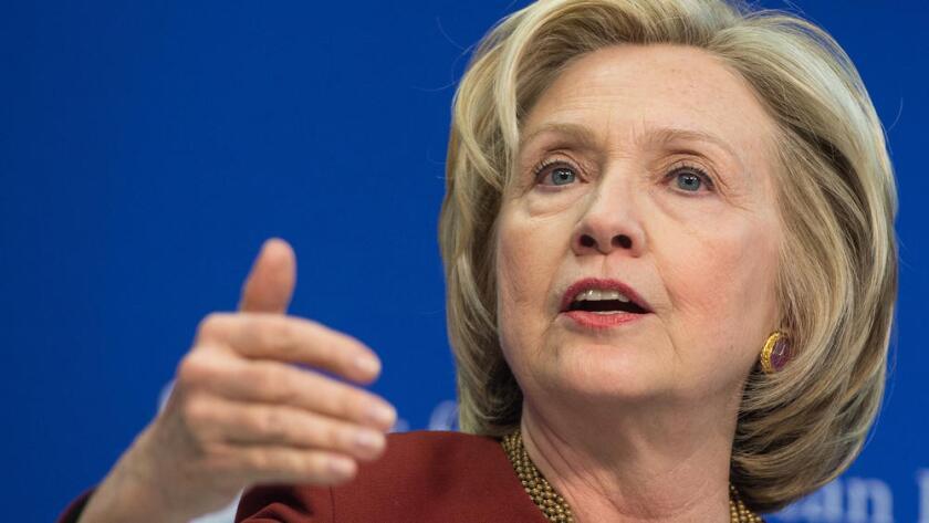 Hillary Clinton podría ser la primer mujer presidenta en Estados Unidos.