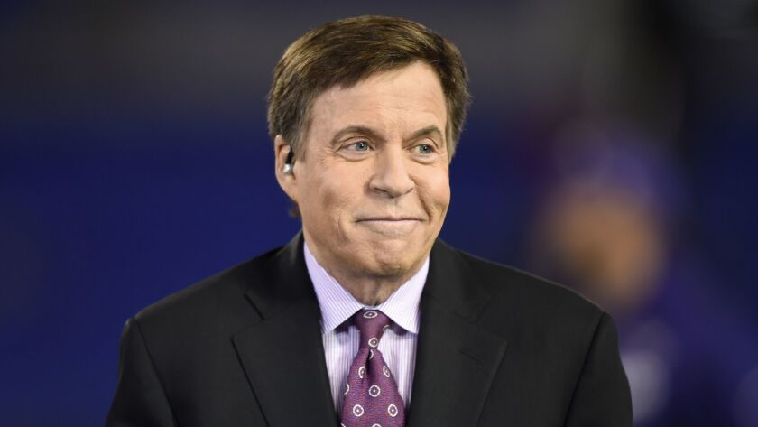 """""""I remember being told that now I can no longer host the Super Bowl,"""" Bob Costas said of his split with NBC. """"I think the words were, 'You've crossed the line.'"""""""