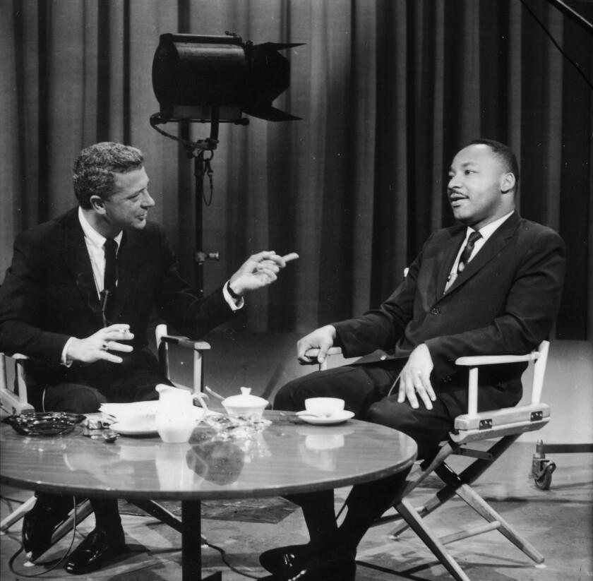 David Susskind interviews the Rev. Martin Luther King Jr. on June 6, 1963.