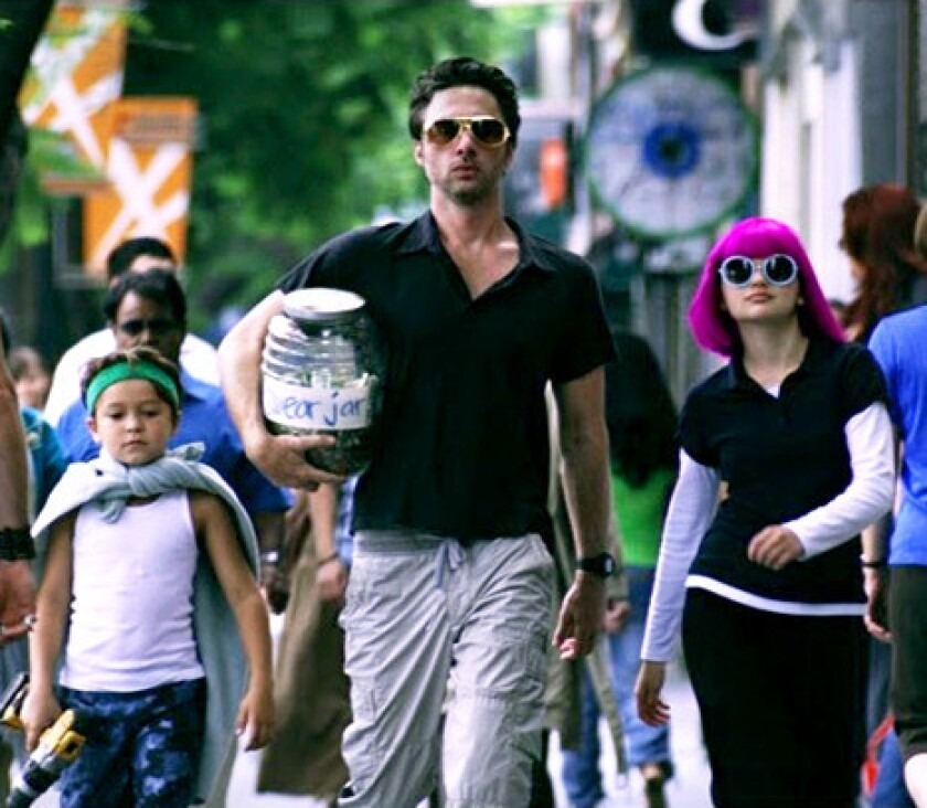 """Zach Braff's """"Wish I Was Here"""" will open in Los Angeles and New York on July 18."""