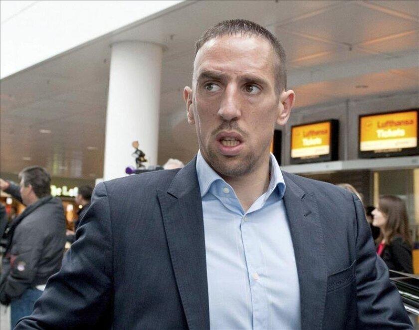 El atacante del Bayern de Múnich Franck Ribery. EFE/Archivo