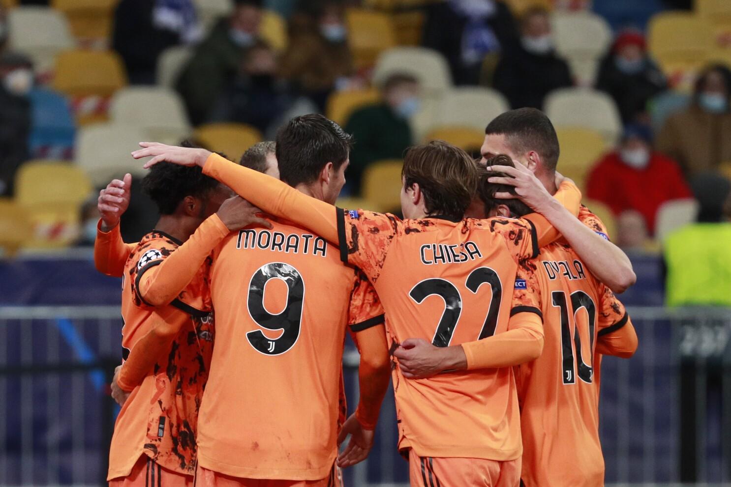 Morata Scores Twice As Ronaldo Less Juventus Tops Dynamo 2 0 The San Diego Union Tribune