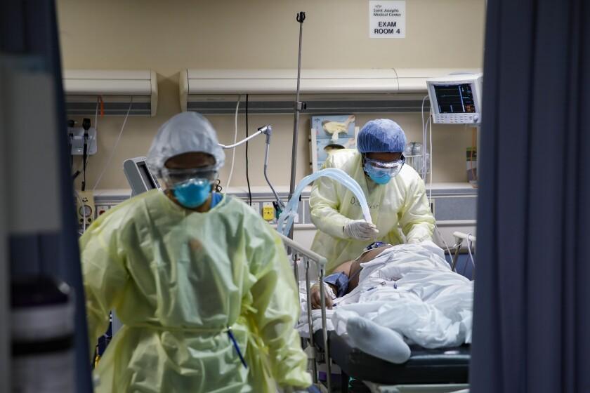 CORRECTION Virus Outbreak Inside A New York ER