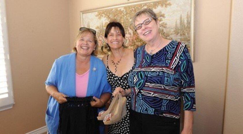Jackie Baxted, June Petersen, Lisa Inouye (Photo: Jon Clark)