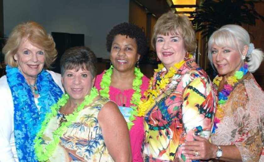 On the Town: La Providencia Guild goes Hawaiian