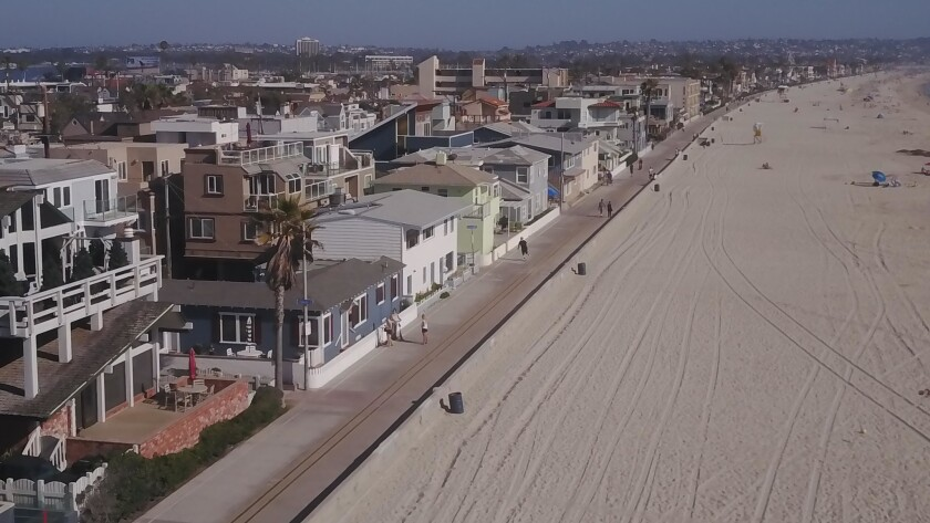 Mission Beach has long been an area with many vacation rentals.