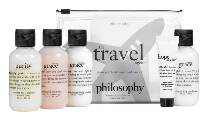 Travel kits and travel products