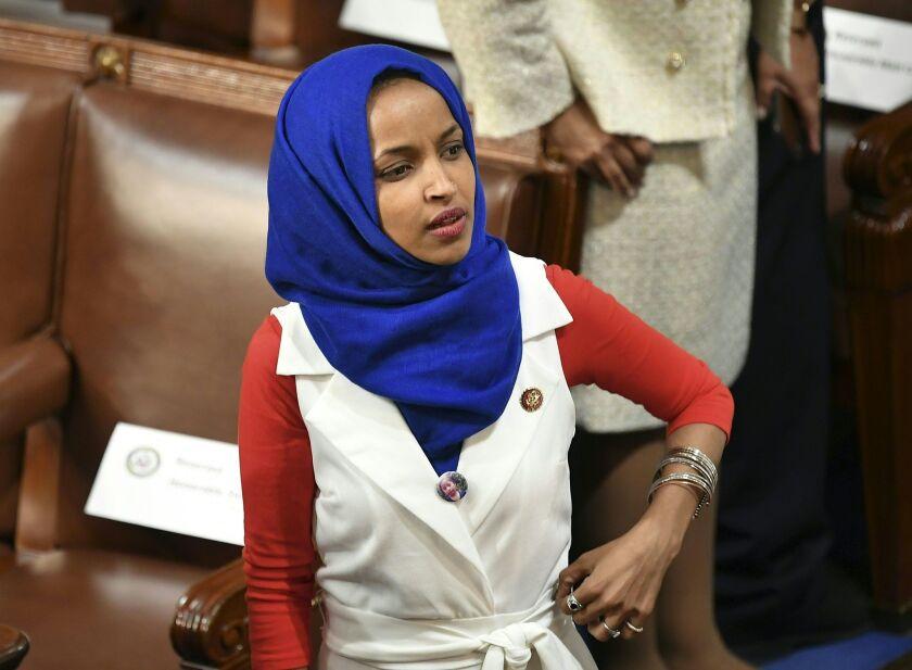 U.S. Rep. Ilhan Omar