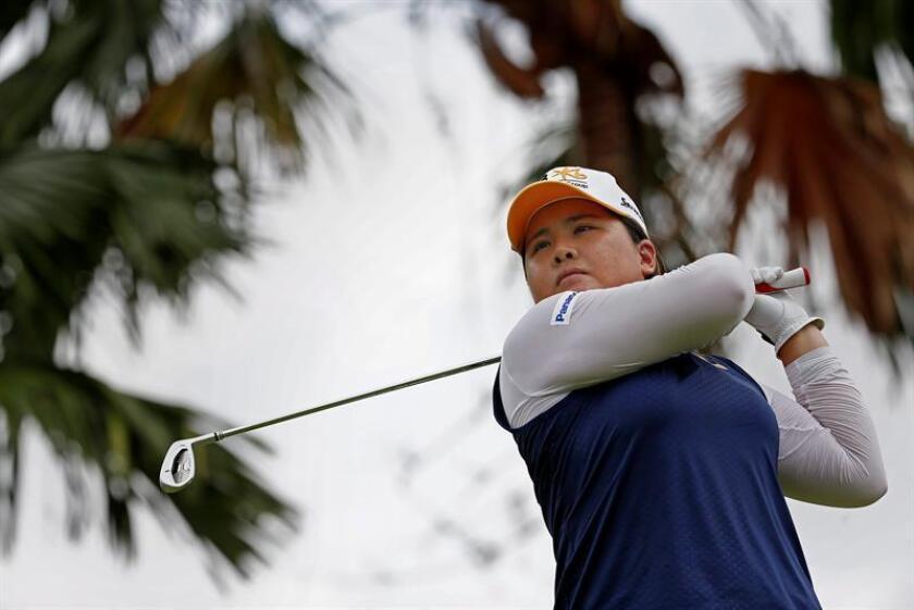 En la imagen, la golfista surcoreana Inbee Park. EFE/Archivo