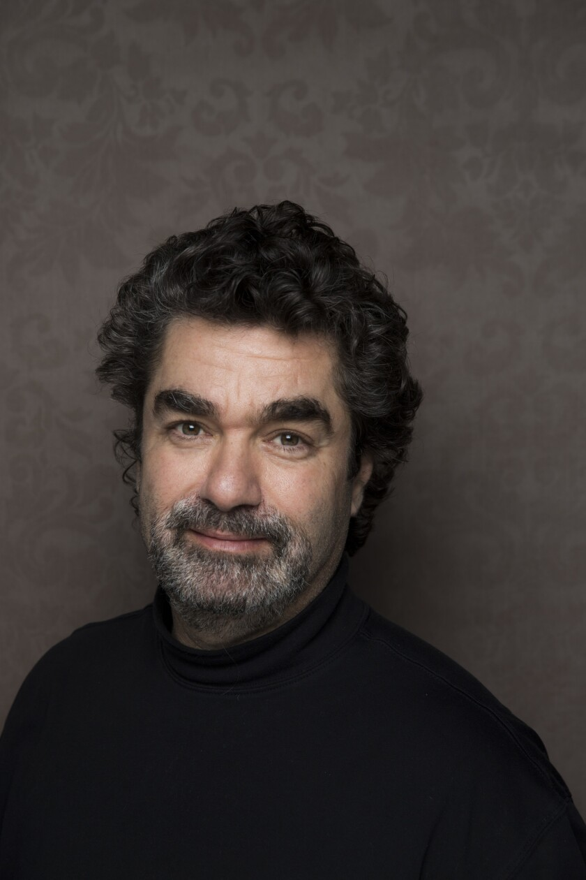 "PARK CITY, UT -- JANUARY 19, 2014--Director Joe Berlinger, with the film, ""WHITEY: United States of"