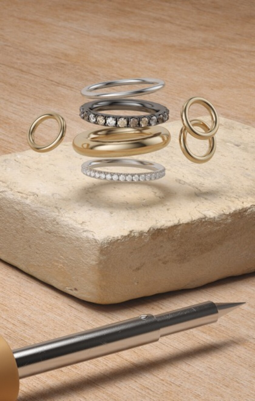 Elyse Walker X Spinelli Kilcollin jewelry collection