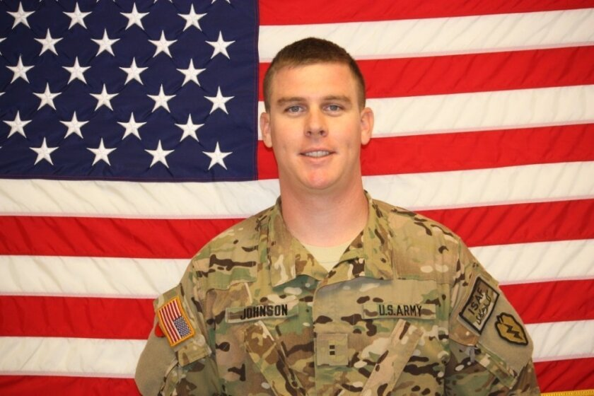 One-time San Diego resident Nicholas S. Johnson, 27, was among four soldiers killed in a Black Hawk crash April 19 in Afghanistan.