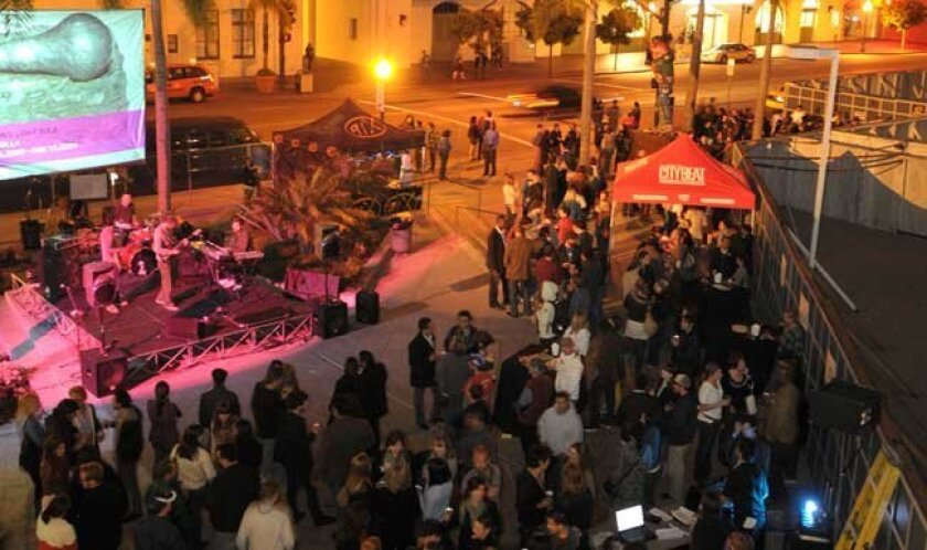Thursday Night Thing, aka TNT, the hip cultural event hosted by the Museum of Contemporary Art - Downtown campus.