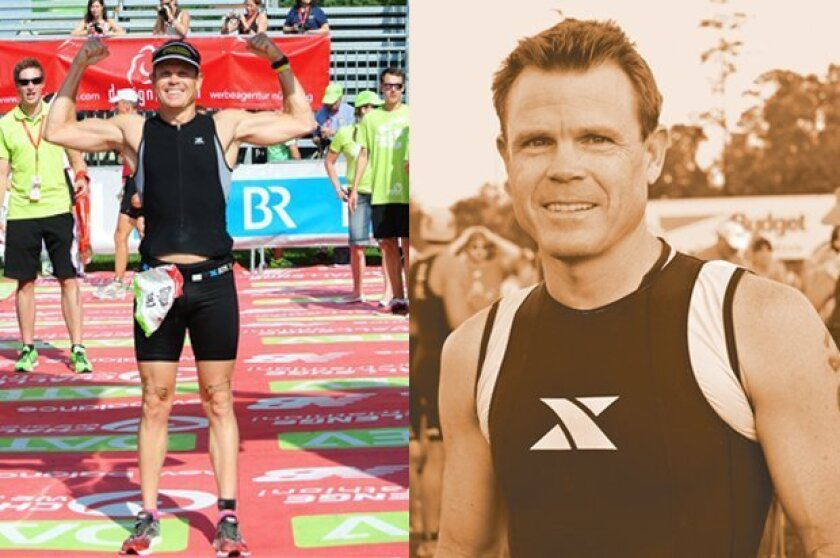 La Jolla triathlete Glynn Turquand, pictured at another event, will travel to Cuba to compete in the Habana Camtri Triathlon, Jan. 24-25, 2015 in Havana.