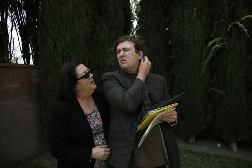 Stephen Lopate and Teresa Thompson