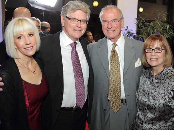 Stephanie Wilde, Dr. Tom Heywood, Dr. Brent and Dr. Sarita Eastman
