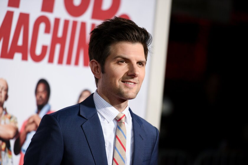 """Adam Scott has joined the cast of the horror-comedy """"Krampus."""""""