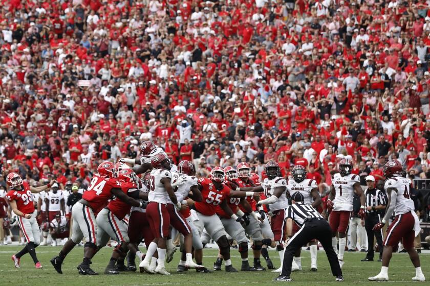 South Carolina Georgia Football