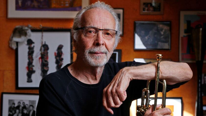 MALIBU, CA – AUGUST 29, 2017: Herb Alpert the iconic Los Angeles musician and producer in his Mal