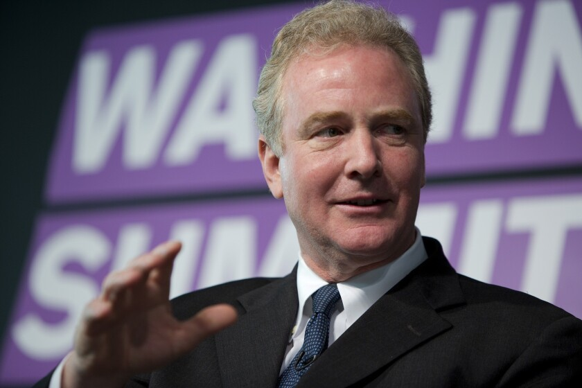 """This is the time to embark on a major boost in infrastructure investing,"" said Rep. Chris Van Hollen (D-Md.), the ranking Democrat on the House Budget Committee."