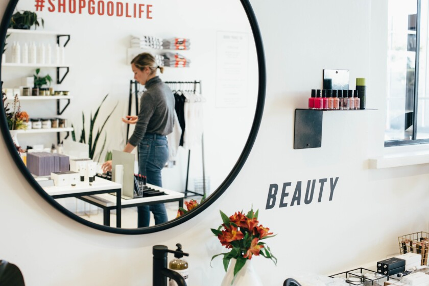 Relax with a customized facial at Shop/Good in North Park.