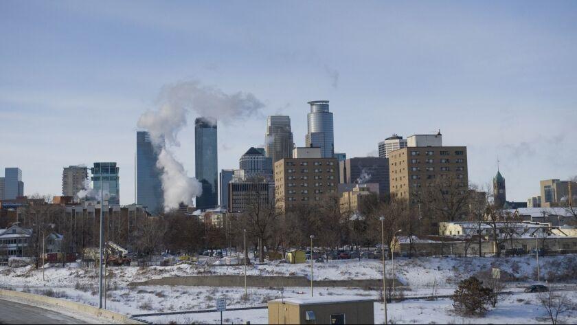 Sub-Zero Temperatures Put Mid-West Into Deep Freeze