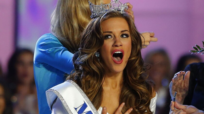 Betty Cantrell is Miss America