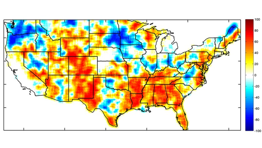 Droughts combined with heat waves