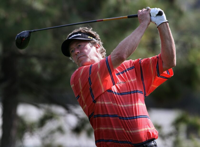 Michael Allen celebrated his 51st birthday with a 7-under 65, the best round of the final day of the Farmers Insurance Open. The result catapulted Allen from 36th at the start of the day to tied for fifth.