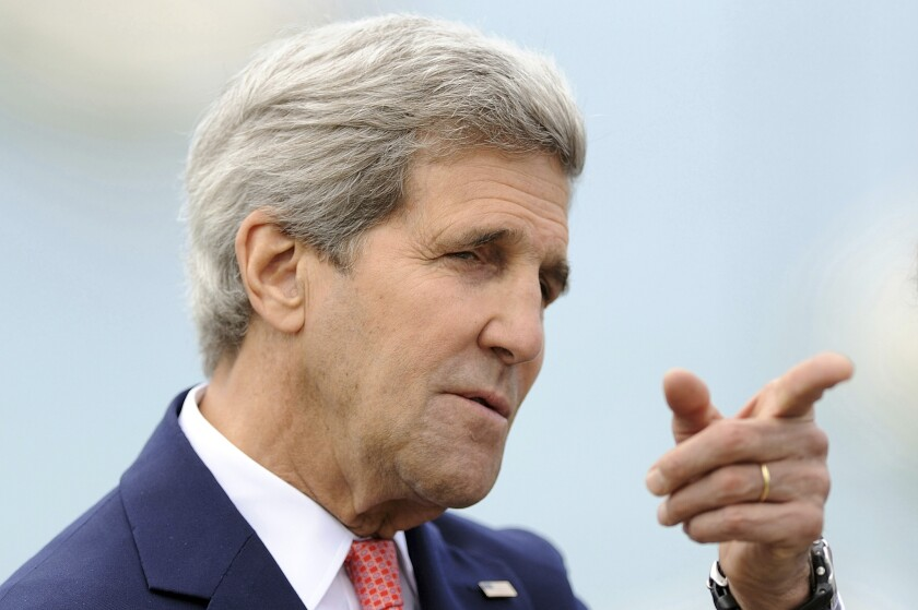 U.S. Secretary of State John F. Kerry