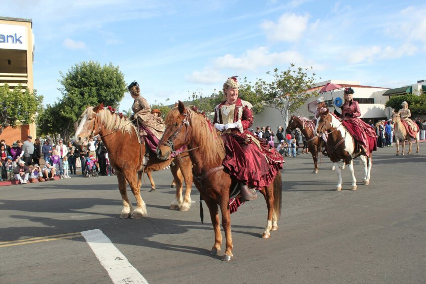 No horsing around: La Jolla Christmas Parade organizers anticipate more equestrian contingents in this year's parade than ever before.