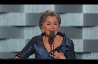 Watch Sen. Barbara Boxer of California speak at the Democratic National Convention