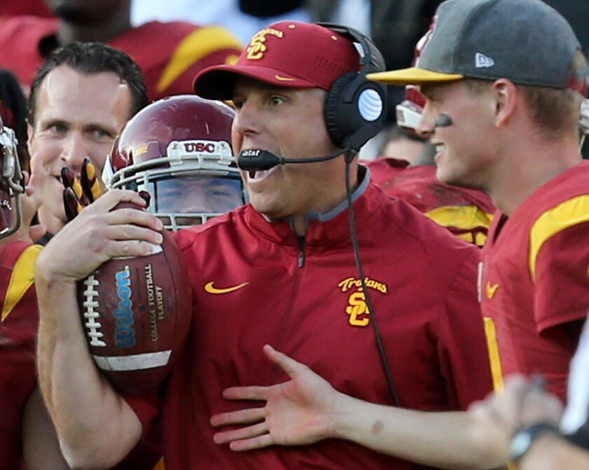 Holiday Bowl is important for USC's coach and players