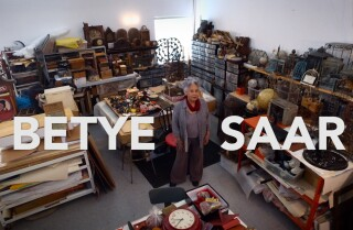 Studio Tour with Betye Saar
