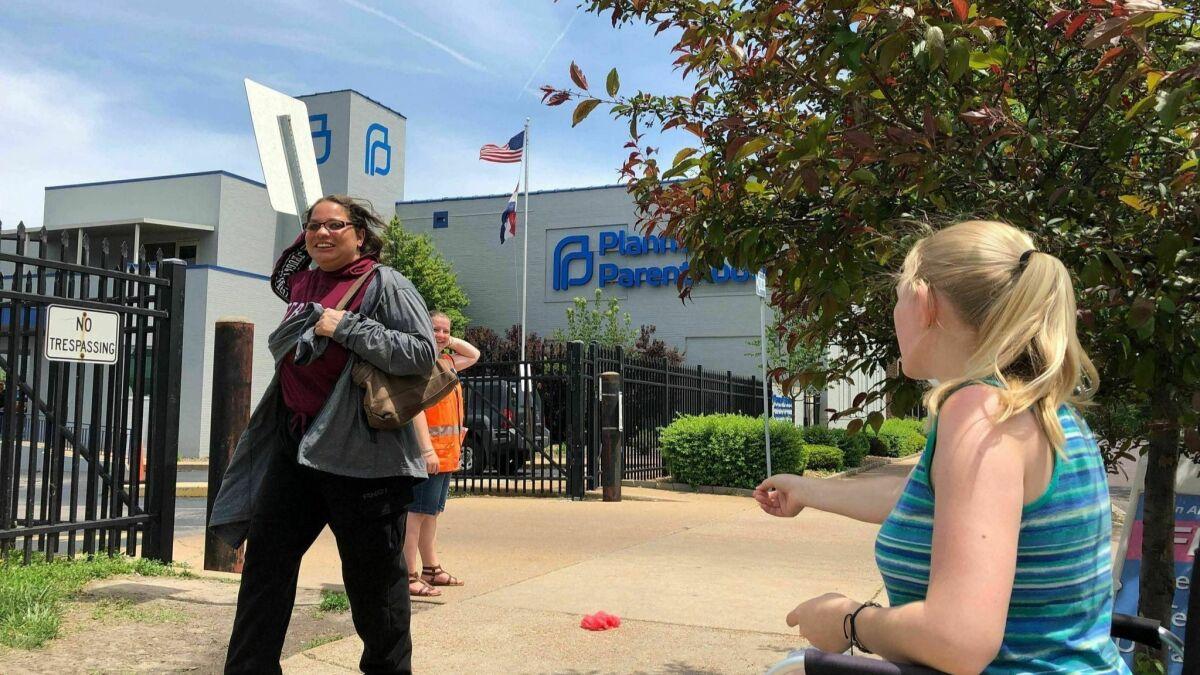 With Missouri's last abortion clinic targeted, Illinois