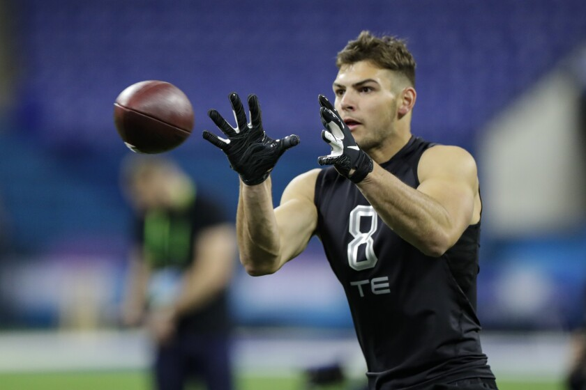 Former Notre Dame tight end Cole Kmet should be the first of his position selected in the upcoming NFL Draft.