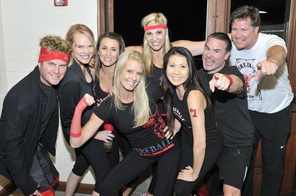 "Team Fireball is Andy Kaffka, Ilene Lamb, Kristin Baldi, Lynde Kaminsky, Phan Kaffka, Krista Bonano, John ""Eagle"" Bonano, Todd Parnell"