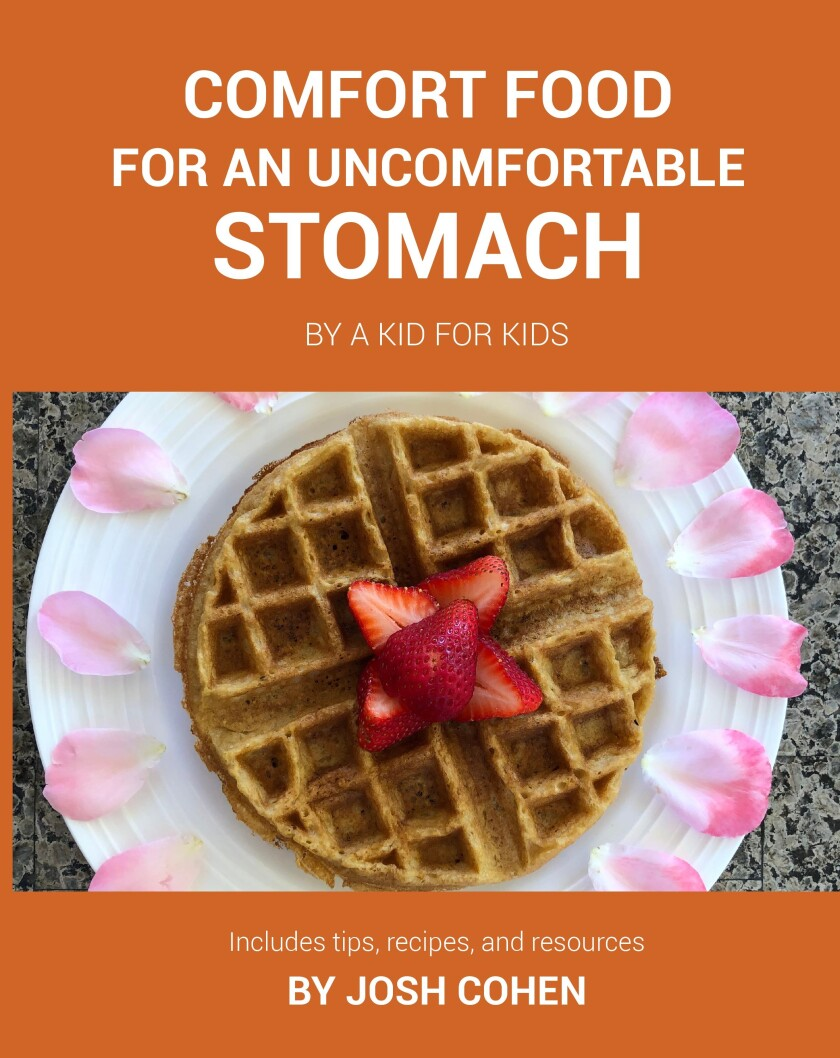 """""""Comfort Food For An Uncomfortable Stomach, By a Kid for Kids"""""""